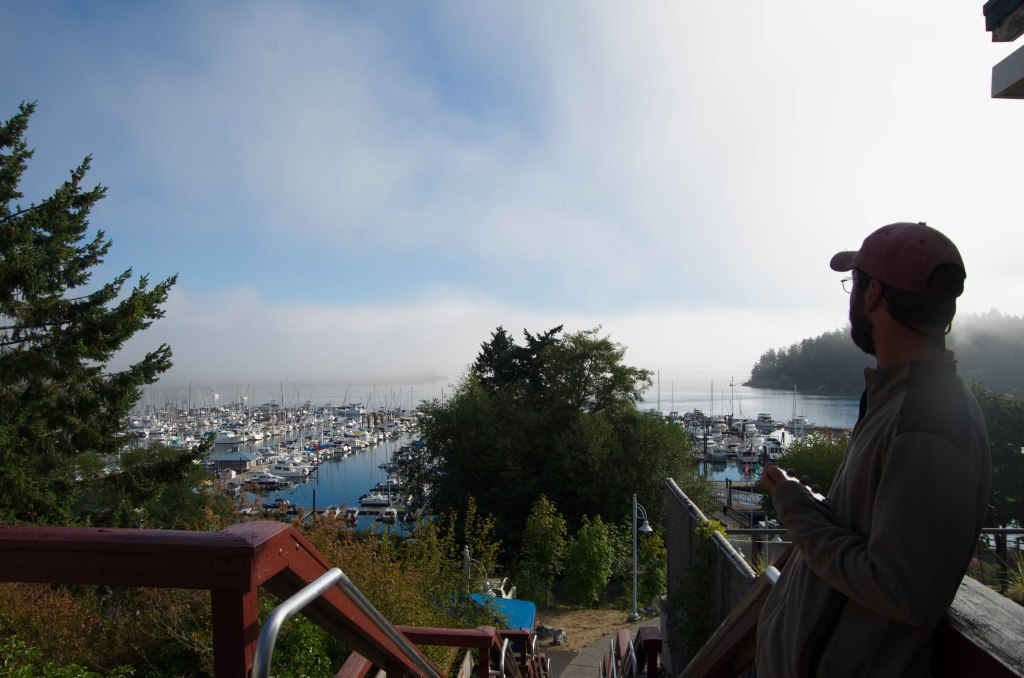 Friday morning in Friday Harbor