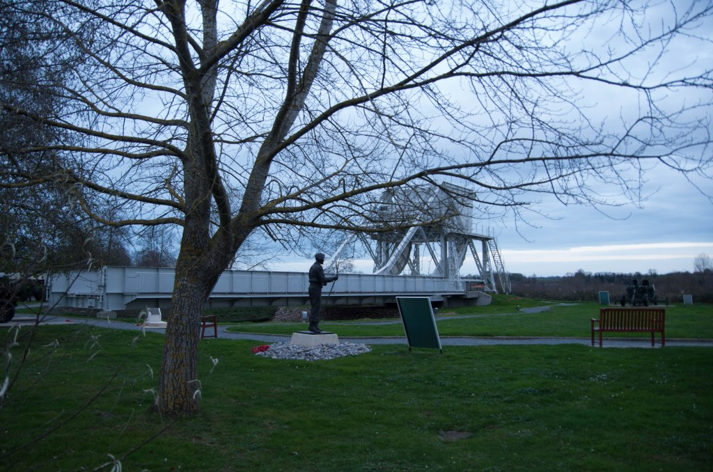 Actually, THIS is Pegasus Bridge. They put the original in a museum when the bridge was replaced.